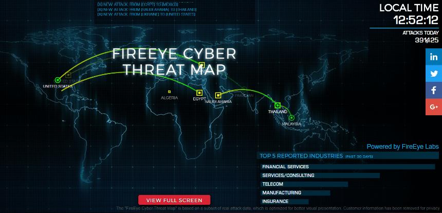 live-cyber-attack-map_FireEye