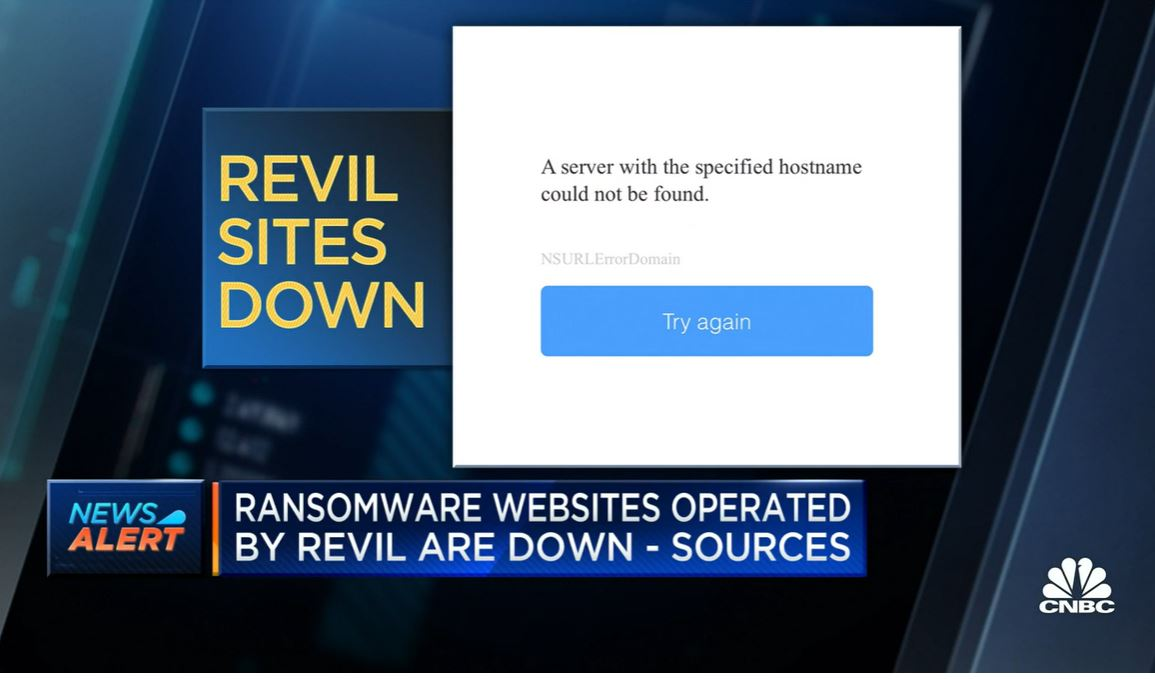 REvil-website-down